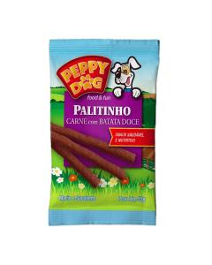 Palitinho Carne com Batata Doce Peppy Dog 50g