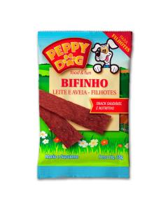 Bifinho Leite e Aveia Filhotes Peppy Dog 60g