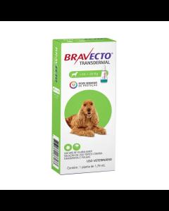 Antipulgas Bravecto Transdermal 1,79 ml Cães 10 à 20 Kg