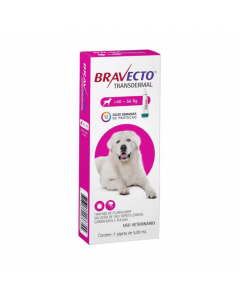 Antipulgas Bravecto Transdermal 5,00 ml Cães 40 à 56 Kg