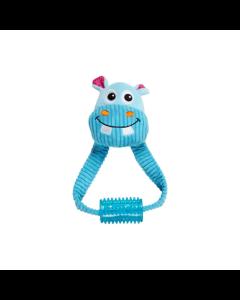 Brinquedo Mordedor Hipopótamo Borracha com Apito