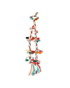 Brinquedo Happy Bird Corda Dupla para Pássaros