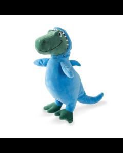 Brinquedo Pelúcia Aupet T-Rex Tubarão