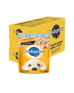 Caixa - Alimento Úmido Pedigree Cães Filhotes Frango - 18 Unidades