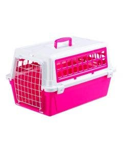 Caixa Transporte Ferplast Atlas Elpa 20 Rosa Neon