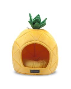 Cama NanDog em Formato de Abacaxi para Cães e Gatos