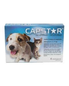 Antipulgas Capstar 11mg Cães e Gatos até 11Kg 06 Comprimidos
