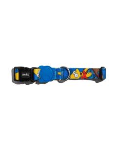 Coleira Zee Dog Padrão Bart Simpson Medium