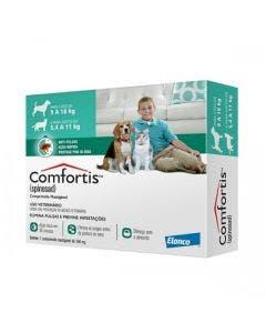 Antipulgas Comfortis 560mg Cães 9 à 18Kg Gatos 5,4 à 11Kg