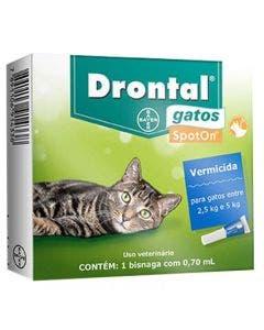 Drontal Gatos Spot On 0,7 Ml