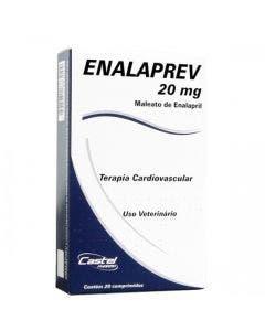 Enalaprev 20mg 20 Comprimidos
