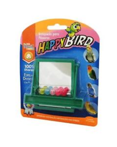 Brinquedo Happy Bird Espelho Divertido para Pássaros