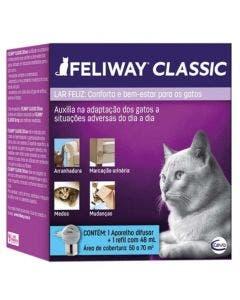 Feliway Classic Difusor Elétrico + Refil 48ml