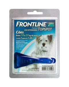 Antipulgas Frontline Top Spot Cães 10 à 20Kg