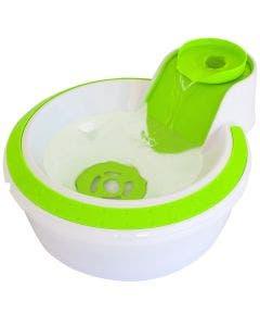 Fonte Bebedouro Petlon para Cães e Gatos Verde Fluor 110V