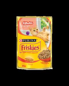 Alimento Úmido Sachê Friskies Gatos Filhotes Frango ao Molho 85g