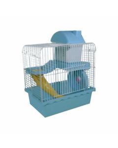 Gaiola Hamster Completa Funny Home Azul