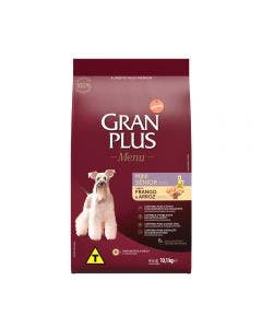 Gran Plus Menu Cães Sênior Mini Frango e Arroz 10,1 KG