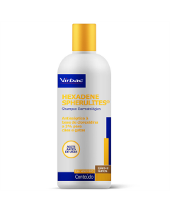Shampoo Medicamentoso Hexadene Virbac 250ml