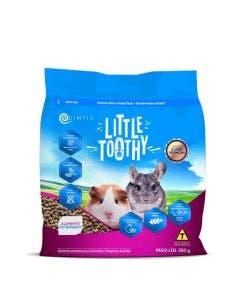 Alimento Completo Little Tooth para Xhincila e Porquinho da Índia 350g