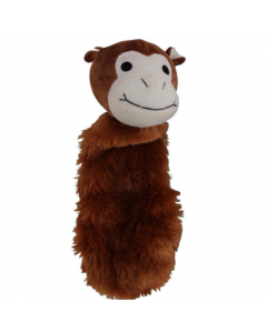 Brinquedo Pelúcia Pawise Macaco Feliz