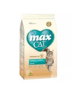 Ração Max Cat Gatos Adultos Frango e Arroz 10,1 Kg
