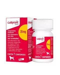 Anti-inflamatório Galliprant 20mg 7 Comprimidos