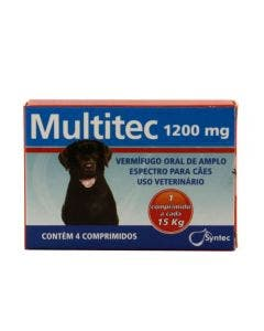 Medicamento Multitec 1200MG 4 Comprimidos
