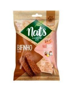 Bifinho Nats NatDerm Linhaça, Óleo de Coco e Colágeno Cães 60 g