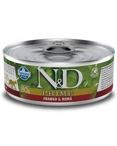 Alimento Úmido N&D Prime Gatos Adultos Frango e Romã 80g