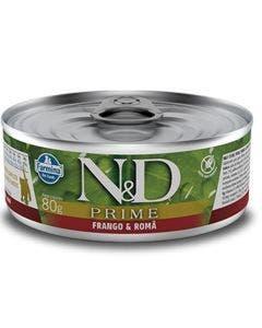 Alimento Úmido N&D Prime Gatos Filhotes Frango e Romã 80g
