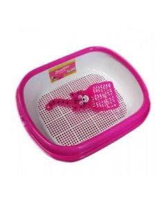 Sanitario Para Gatos - Rosa AZPR