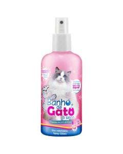 Banho de Gato a Seco CatMyPet Spray Cheirinho de Puro Glamour