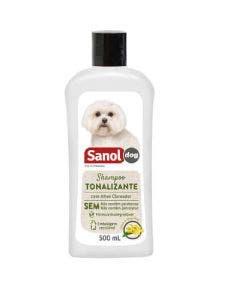 Shampoo Sanol Tonalizante para Pelos Claros 500 ml