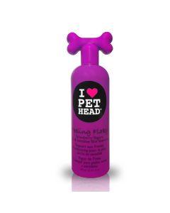 Shampoo Pet Head Feeling Flaky Para Peles Secas E Sensíveis 475ml
