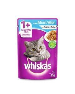 Caixa - Alimento Úmido Whiskas Gatos Adultos Atum - 20 Sachês