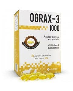 Suplemento Ograx-3 1000mg 30 Cápsulas Avert