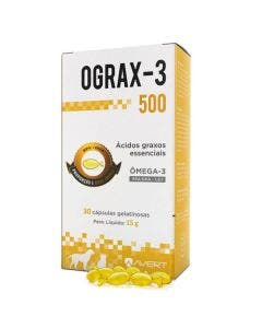 Suplemento Ograx-3 500mg 30 Cápsulas Avert