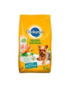 Ração Pedigree Equilibrio Natural Cães Adultos Raças Pequenas 10 Kg