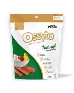 Petisco Bifinho Ossyto Cães Adultos Natural com Frutas 300g