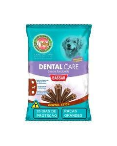 Snack  Dental Care Bassar Cães Raças Grandes 20 Unidades