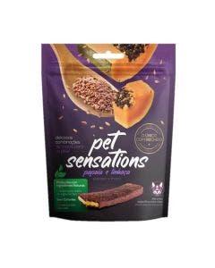 Bifinho Petitos Pet Sensations Sabor Papaia e Linhaça 65g