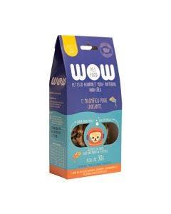 Petisco Wow Pet Peixe Crocante 30G