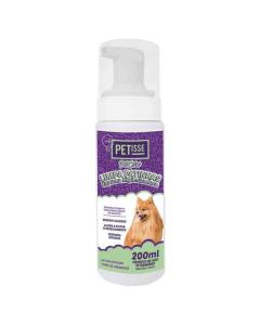 Espuma Higienizadora Limpa Patinhas Petisse 200ML