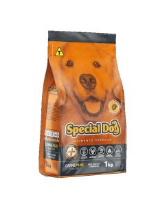 Ração Special Dog Carne Plus Adultos 1Kg