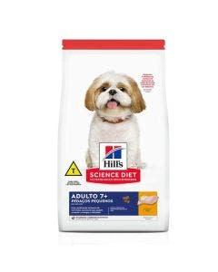 Ração Hills Science Diet para Cães Adultos 7+ Pedaços Pequenos 2,4Kg