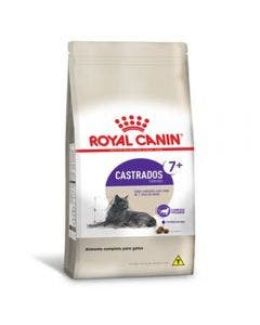 Ração Royal Canin Gatos Castrados Sterilised 7+ 4kg