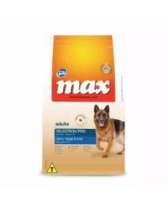 Ração Max Selection Pro Cães Adultos Raças Médias e Grandes 15 Kg