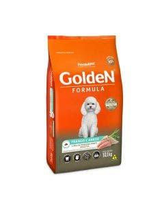 Ração Golden Cães Adultos Mini Bits Frango e Arroz 10 Kg