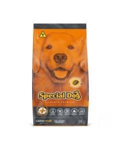 Ração Special Dog Carne Plus Adultos 15Kg+1Kg